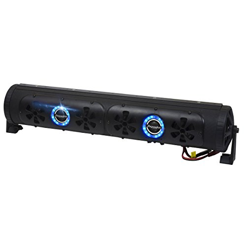 Bazooka BPB24 - 24in Bluetooth Party Bar Off Road Sound Bar and LED Illumination System - 24in Length Switch