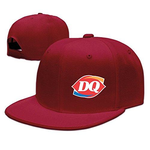 ancatt-dairy-queen-logo-adjustable-snapback-cap-baseball-flat-hats