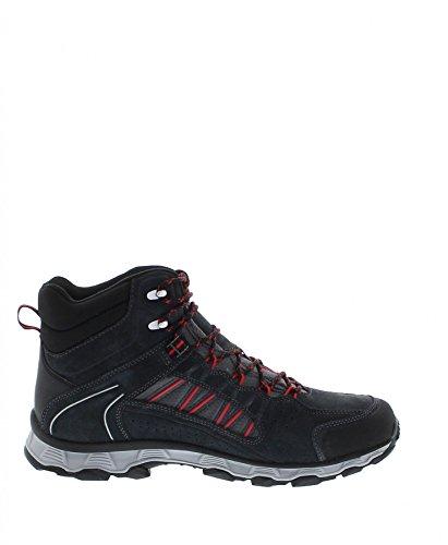 Meindl Scarpe da Camminata ed Escursionismo Uomo Grigio Antracite/Rosso Antracite/Rosso