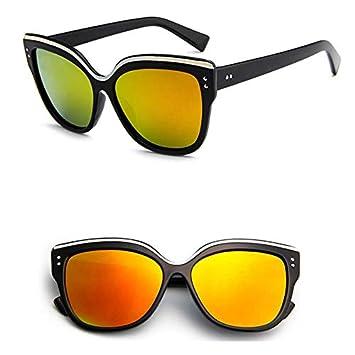 YXCCHZS Gafas De Sol Ojo De Gato Negro Gafas De Sol De Mujer ...