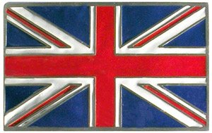union jack belt buckle - 9