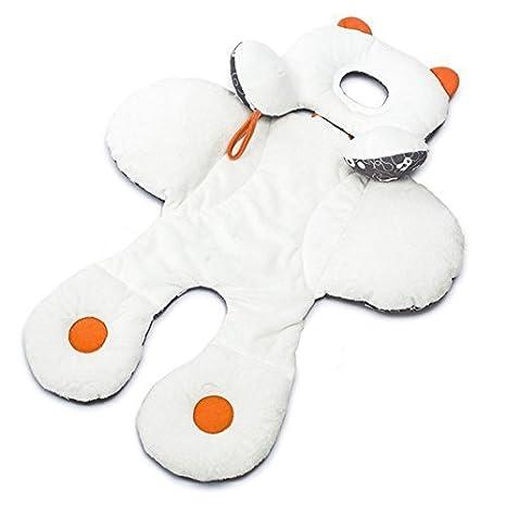 Cojin reductor con orejitas para cochecito de bebe carritos y asiento reversible acolchado con soporte para la cabeza de OPEN BUY: Amazon.es: Hogar