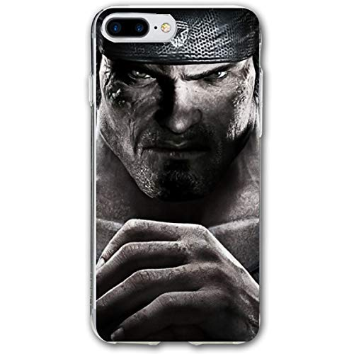 iPhone 7/8 Plus Marcus Fenix Gears of War 3 Game Wallpaper Cases for ()