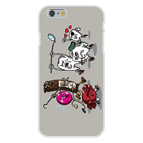 Apple Iphone 6 Custom Case White Plastic Snap On    Candy Vs Teeth  Funny Dental Humor By Hat Shark
