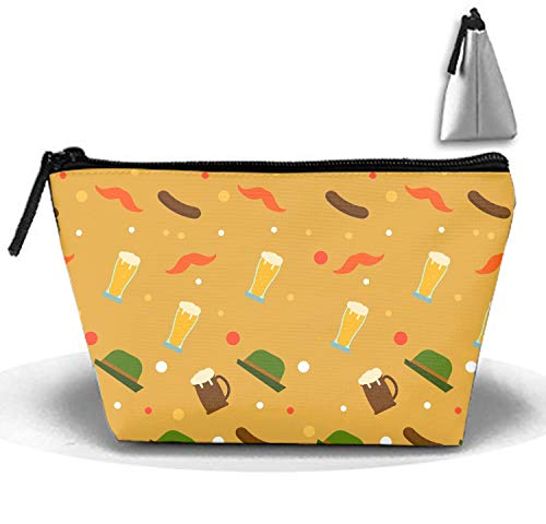 Portable Sausage Beard Cosmetic Bag Large Capacity Lazy Travel Makeup Pouch