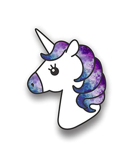 [해외]유니콘 인쇄 비닐 별이 빛나는 하늘 패턴 자동차 스티커범퍼 데 칼 / Unicorn Printed Vinyl Starry Sky Pattern car StickerBumper Decal