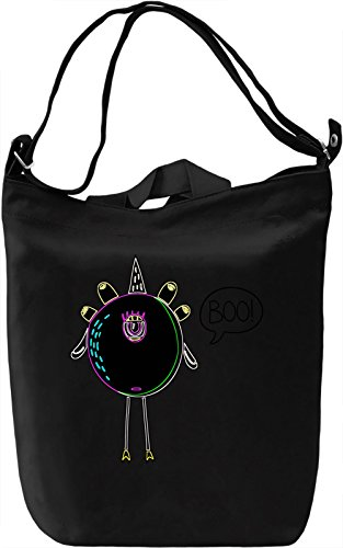 Lovely Monster Borsa Giornaliera Canvas Canvas Day Bag  100% Premium Cotton Canvas  DTG Printing 