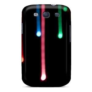 OrGFXll835lCSKI Case Cover Bokeh Art Line Galaxy S3 Protective Case