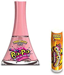 Bo-Po Nail Polish Color Change Lipbalm, Pinkie Swear & Mango