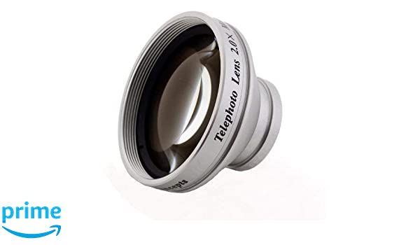 Includes Lens Adapter Optics 2.0X High Definition Telephoto Conversion Lens for Leica V-LUX 4