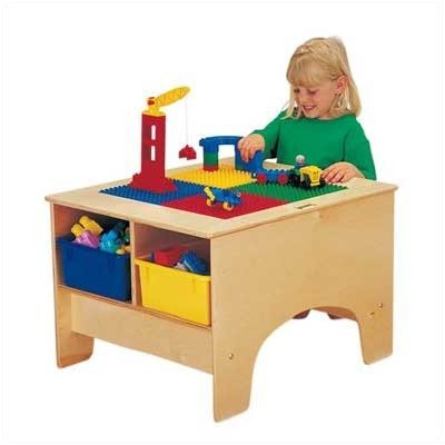 Jonti Craft 2 Tubs (Jonti-Craft 5744JC KYDZ Building Table, Lego Compatible without Tubs)