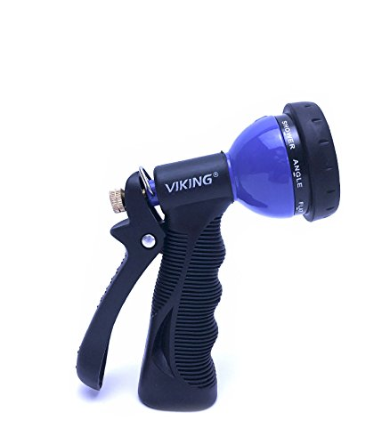 Hose Nozzle Sprayer - Viking Car Care 912600 8-Way Spray Nozzle