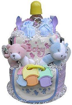 Baby Geschenk Idee Twcakebb Twins Windeltorte Boy Boy Amazon De Baby