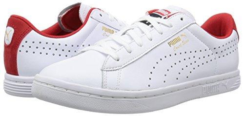Puma white Scarpe high Bianco Red Court Risk Star S6 Ginnastica Craft Unisex adulto Da white Hr1Hvw