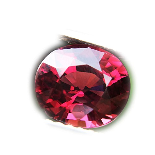 Lovemom 2.07ct Natural Oval Unheated Reddish-Pink Rhodolite Garnet Africa #W ()