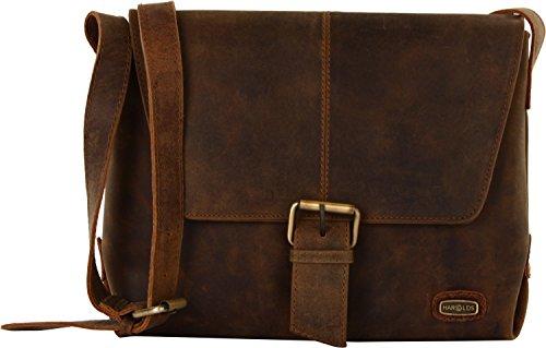 Harold's Antik Leather Shoulder Bag 33 Cm Natur