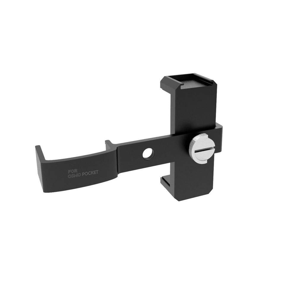 多機能三脚マウントスタンド電話ホルダー DJI Osmo ポケットハンドヘルドカメラアダプター用 B07N3T4XMV
