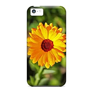 High Quality ZvqppMC3056Xmejz Yellow Flower Tpu Case For Iphone 5c