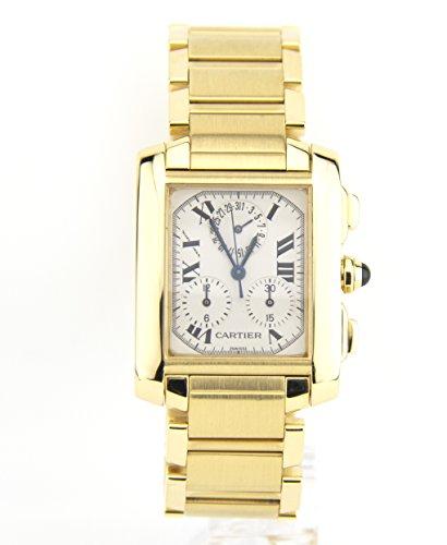 Cartier Tank Francaise quartz mens Watch 1830 (Certified Pre-owned)