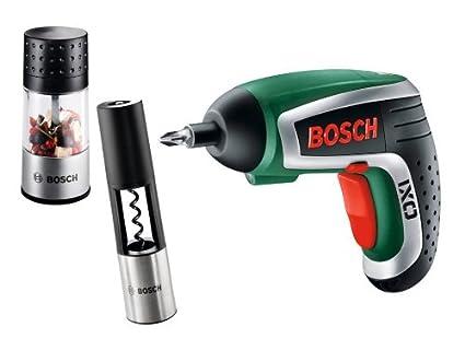 Bosch 603981008 - Destornillador inalámbrico IXO Gourmet con ...