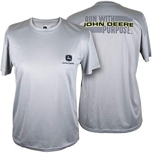 John Deere Nrlad - 2 Hit Ss Tee-Oxford-XL