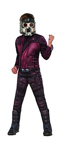 Star Childrens Costumes (Guardians of the Galaxy Vol. 2 Deluxe Muscle Chest Star-Lord Costume, Medium)