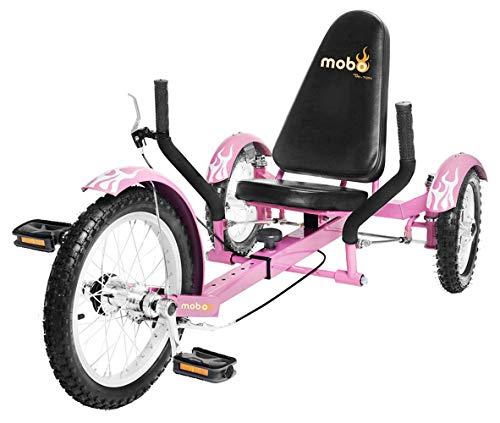 Mobo Triton Recumbent Trike. Kids 3-Wheel Bike. Youth Cruiser (Triton Three Wheel)
