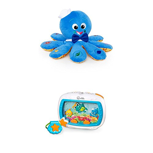 Baby Einstein Octoplush Plush Toy   Baby Einstein Sea Dreams Soother Crib Toy With Remote  Lights And Melodies For Newborns And Up