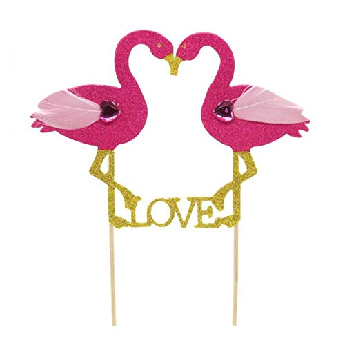 1 piece Baking Cake Fashion Cake Topper Wedding Flamingo HOT DIY Party Cupcake Insert Card Decorations Baby Shower Pineapple Birthday