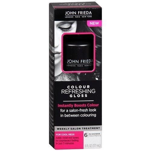 John Frieda Colour Refreshing Gloss, Cool Red, 6 Fl Oz Red Hair Glaze