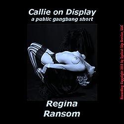 Callie on Display
