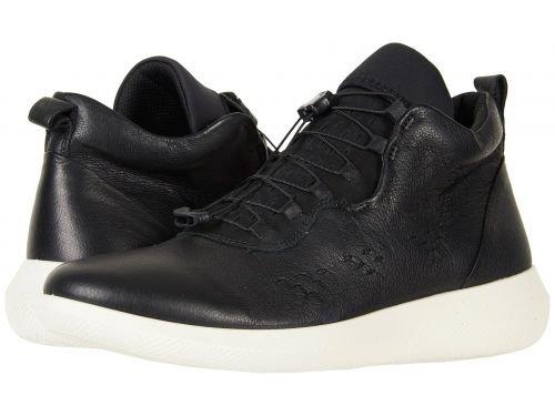 ECCO(エコー) メンズ 男性用 シューズ 靴 スニーカー 運動靴 Scinapse High Top - Black/Black [並行輸入品] B07C8GTN91