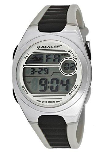 Dunlop Reloj Digital para Unisex de Cuarzo: bateria con Correa en Caucho DUN-194-M01: Amazon.es: Relojes