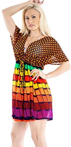 Vestido boho chic multicolor