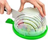 THE ORIGINAL Salad cutter bowl - Best Salad maker. Vegetable chopper, Cutter for Lettuce or Salad chopper for Salad in 60 Seconds by O`Salata