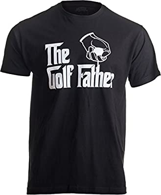 Ann Arbor T-shirt Co. The Golf Father | Funny Saying Golfing Shirt, Golfer Ball Humor For Men T-Shirt