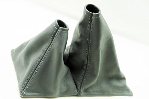 Fits 1989-1995 Toyota Truck 4×4 5spd Real Gray Leather Shift Boot . (Leather Part Only)