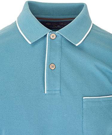 Loro Piana Fashion Man FAI04857192 Light Blue Cotton Polo Shirt | Spring Summer 20