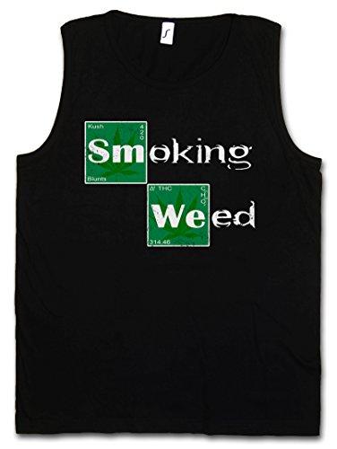 "SMOKING WEED ""J"" HERREN TANK TOP MUSCLE SHIRT – Breaking Periodensystem Periodic Bad Table Cannabis Kush Shit Größen S – 2XL"
