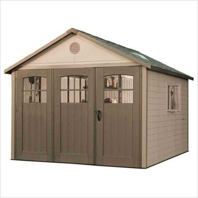 Lifetime Shed (Lifetime 11 ft. x 21 ft. Garage Shed)
