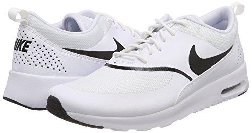 Thea Zapatillas white 108 Mujer black Blanco Nike Para Max Wmns Air CwxqWq7B