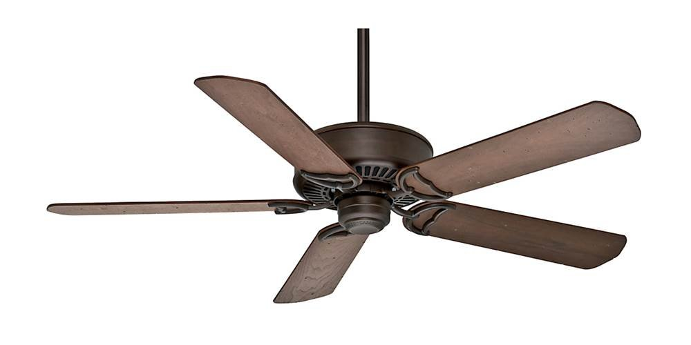 Traditional Ceiling Fan in Brushed Cocoa by Casablanca Fans