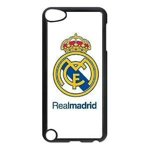Real Madrid N6M74A0YS funda iPod Touch 5 caso funda 430O7H negro
