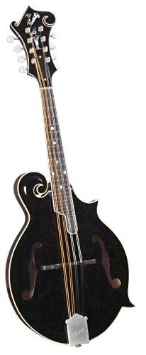 Kentucky KM-1000B Master F-model Mandolin - Black Top