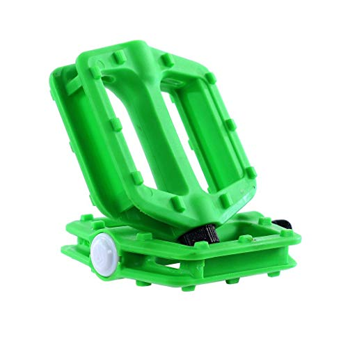 Fatboy Pro 9/16in Pedals (Set of 2; Green)