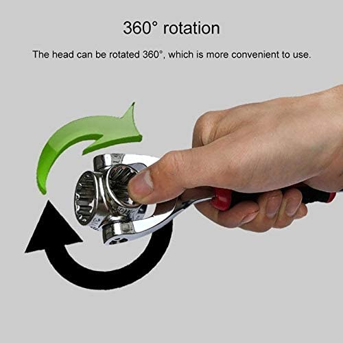 PERISTERA Random Semblance Delivery Multifunctional 48 in 1 Socket Wrench Hardware Tool DIY