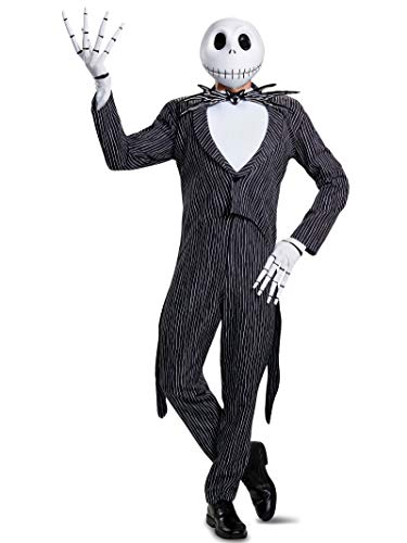 Disney Men's Jack Skellington Prestige Adult Costume,