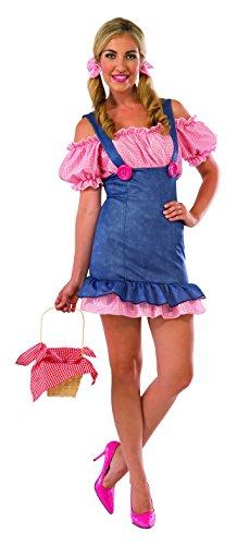 Rubie's Costume Co Women's Country Cutie Costume, Multi-Color, Small
