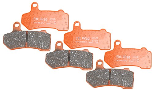 EBC Brakes EBPCK1015 Complete Semi-Sintered V-Pads Brake Pad Change Kit