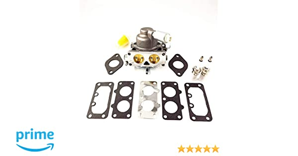 Carburetor Rebuild Kit For Briggs Stratton V-Twin 20-25 Hp 40F777 40G777 40H777